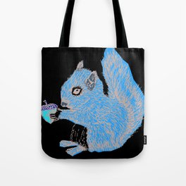 Squirrel in Colour Tote Bag
