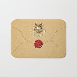 Hogwarts Envelope Bath Mat
