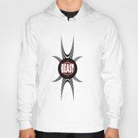 beast Hoodies featuring BEAST  by Robleedesigns