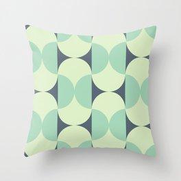 Beans Green Throw Pillow