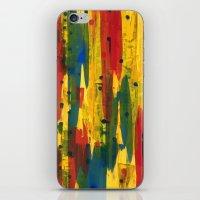 camo iPhone & iPod Skins featuring Camo by Dariush Nejad