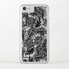 chrysanthemica Clear iPhone Case