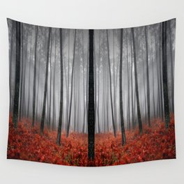 The Scary Forest Wall Tapestry