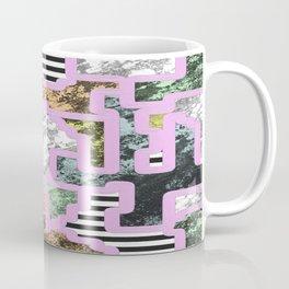 Paint Segregation - Abstract, geometric, multi patterned pop art Coffee Mug
