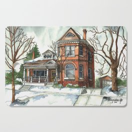 Victorian House in The Avenues Cutting Board