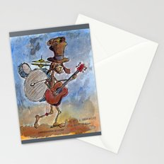 ONE MAN BAND Stationery Cards