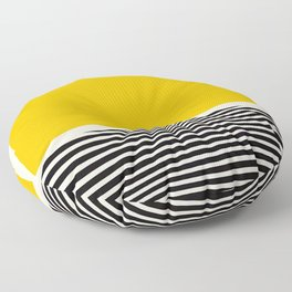 Abstract Optical Illusion Art Floor Pillow