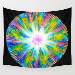 Looking at the Sky Throug a Clearing in an Alien Forest Wall Tapestry