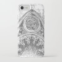 gothic iPhone & iPod Cases featuring gothic by Tereza Del Pilar