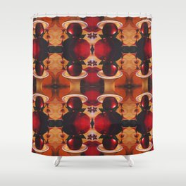Apple of my Eye Photographic Pattern #2 Shower Curtain