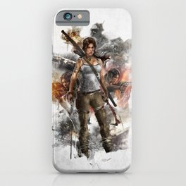 Tomb Raider Reborn... iPhone Case
