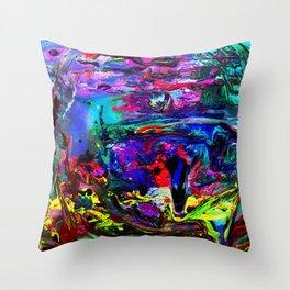 Mur no. 4 Throw Pillow
