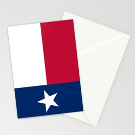 Texas state flag, High Quality Image Stationery Cards