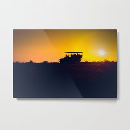 Morning African Safari Metal Print