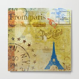 From Paris Metal Print