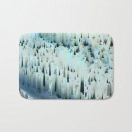 White Landscape / Snow Bath Mat