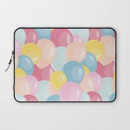 Happy birthday party balloons Laptop Sleeve
