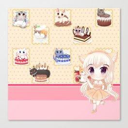 MMM Dessert! Canvas Print