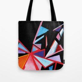 Angles Of A Setting Sky Tote Bag