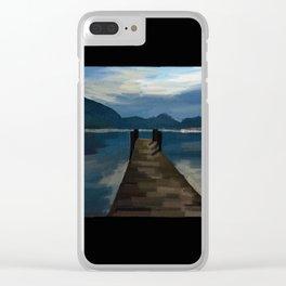 Lake Walkway - 216 Clear iPhone Case