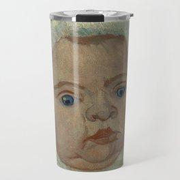 Portrait of Marcelle Roulin Travel Mug