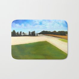 Landscape Series - Partly Cloudy Bath Mat