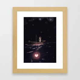 There Are Plenty of Other Fish in the Sea Framed Art Print