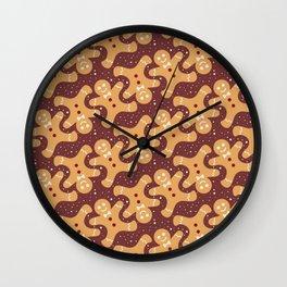 Ginger Bread Men Wall Clock