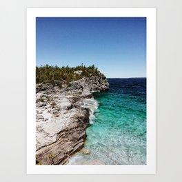 Bruce Peninsula National Park Art Print