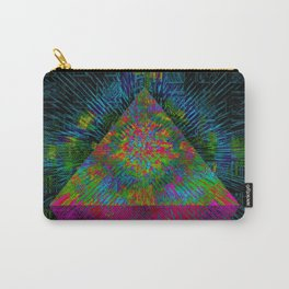 Pink Pyramid Landing Carry-All Pouch