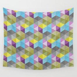 Tangrams Pattern Wall Tapestry