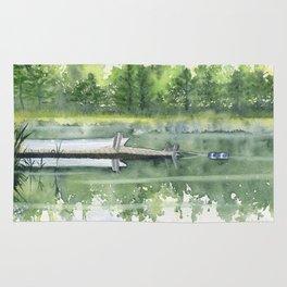 A Summer Pond Rug