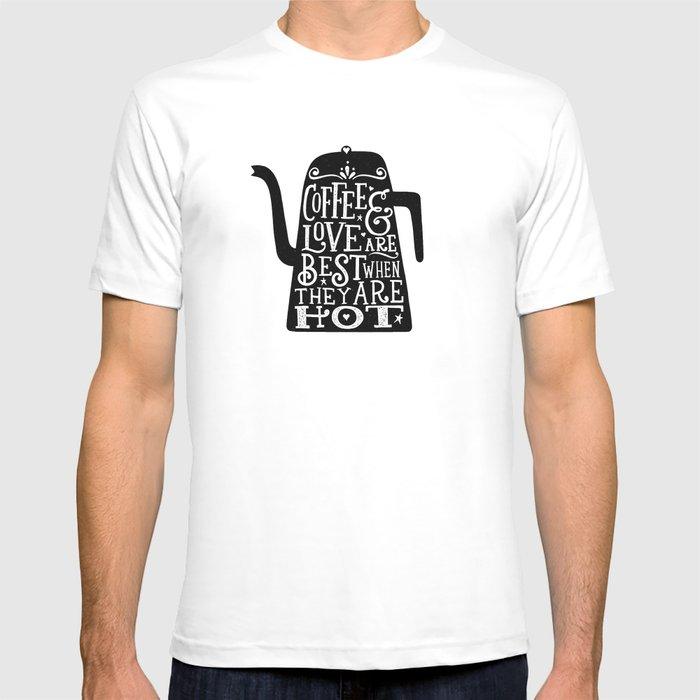COFFEE & LOVE T-shirt