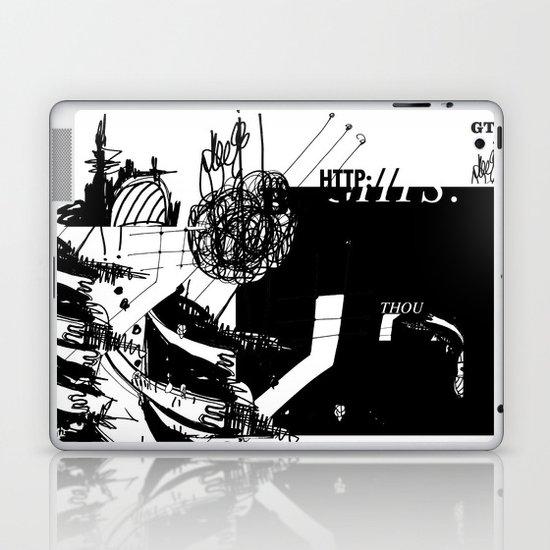 Thou Laptop & iPad Skin