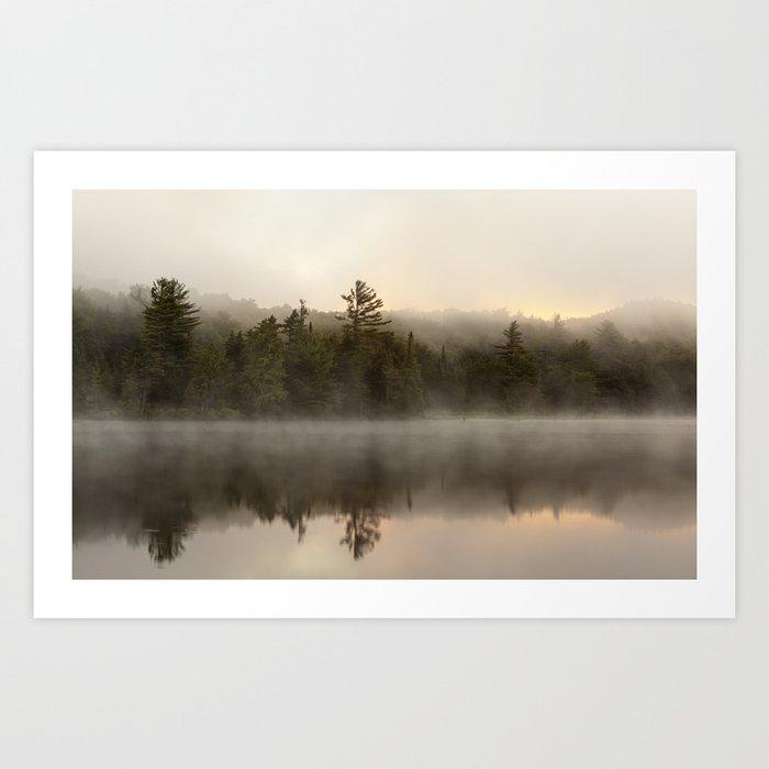 misty reflections Art Print
