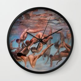 In The Mix Wall Clock