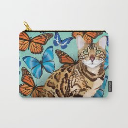 layla butterflies Carry-All Pouch