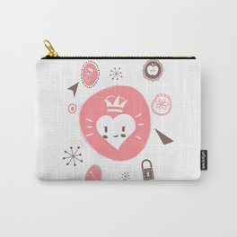 Queen Love Carry-All Pouch