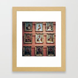 beauty queens Framed Art Print