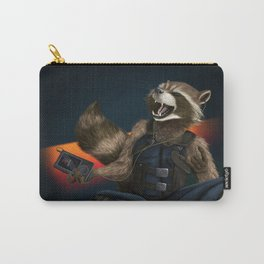 Rockin Raccoon Carry-All Pouch