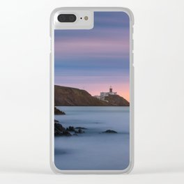 Howth lighthouse - Ireland (RR200) Clear iPhone Case