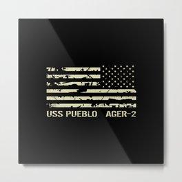 USS Pueblo Metal Print