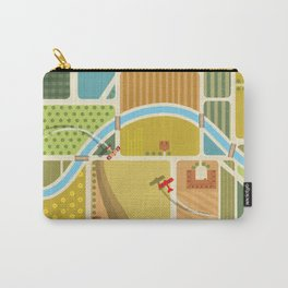 from above in the skies of Picardy Carry-All Pouch