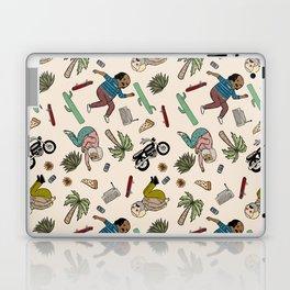 On the freedom experienced by Desert Bike Harpies.   Laptop & iPad Skin