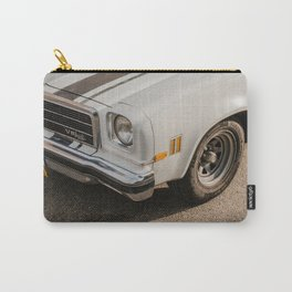 Car Corner 3 - Amersfoort The Netherlands photo | Vintage classic auto urban urbanscape street photography art print Carry-All Pouch
