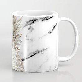 Marble Pineapple Coffee Mug