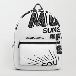 Country Music Sunshine And Best Friends Gift Backpack