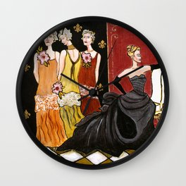 The Three Ugly Stepsisters Wall Clock