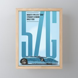 57G Tribute Framed Mini Art Print