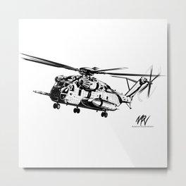 CH-53 Metal Print